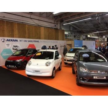 Aixam est présent au Concours International Lépine 2018